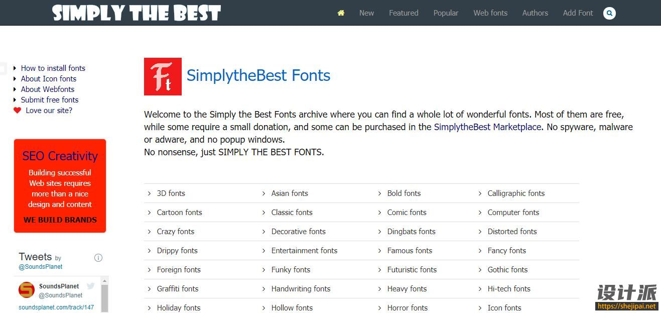 SimplytheBest Fonts